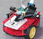 Little red car powered by Pi